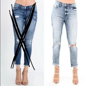 Coming soon! Distressed Kancan  jeans
